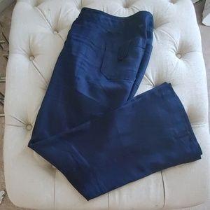Banana Republic Navy Linen pants